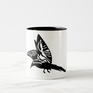 Tattoo Print Two-Tone Coffee Mug