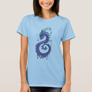 Tattoo Purple Sea Dragon, Therese L. Davis T-Shirt