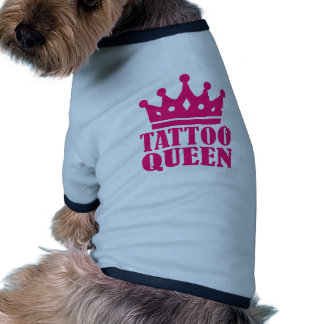 Tattoo queen dog clothes