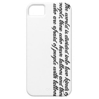 Tattoo Quote iPhone Case iPhone 5 Cover