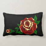 Tattoo Red Rose Pillows