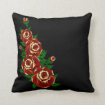Tattoo Red Roses Pillow