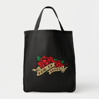 Tattoo Rose Maid of Honor Tote Favor Gift Tote Bags
