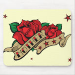 Tattoo Rose Mother Mouse Pad