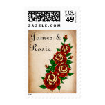 Tattoo Rose Save the Date Stamp