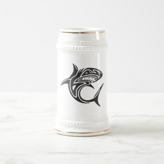 Tattoo Shark Beer Stein