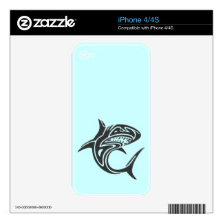 Tattoo Shark Decals For The iPhone 4S