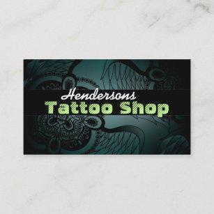Tattoo Shop Business Cards Zazzle