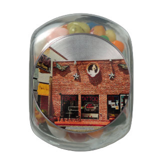 Tattoo Shop Jelly Belly Candy Jars
