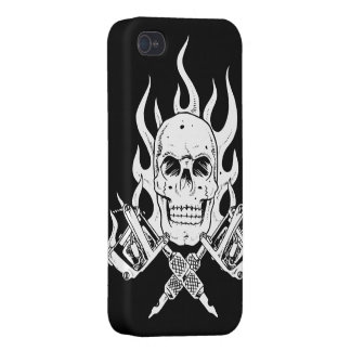 Tattoo Skull Case For iPhone 4