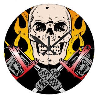 Tattoo Skull Clocks