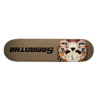 Tattoo Skull Eight Ball Comp Skateboard