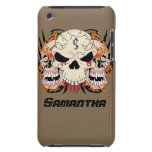 Tattoo Skull Eight IPod Touch Barely There Case Barely There iPod Cases