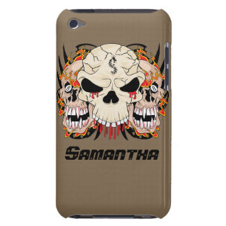 Tattoo Skull Eight IPod Touch Barely There Case iPod Case-Mate Cases