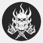 Tattoo Skull Stickers
