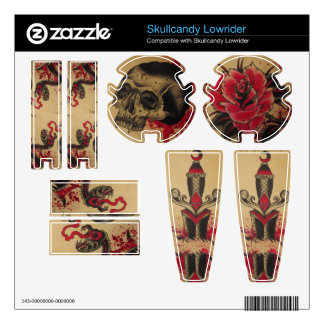 Tattoo SkullCandy Skin headphone