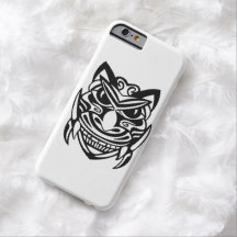 Tattoo Style Mask 1 Barely There iPhone 6 Case