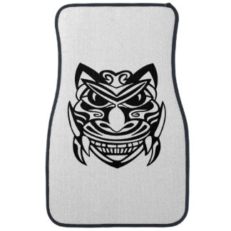Tattoo Style Mask 1 Car Floor Mat