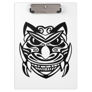Tattoo Style Mask 1 Clipboards