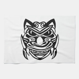 Tattoo Style Mask 1 Hand Towels