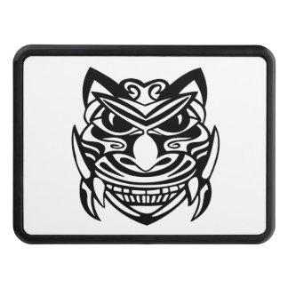 Tattoo Style Mask 1 Trailer Hitch Cover