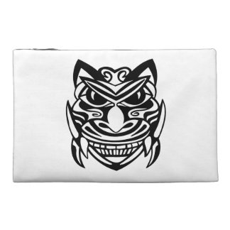 Tattoo Style Mask 1 Travel Accessory Bag