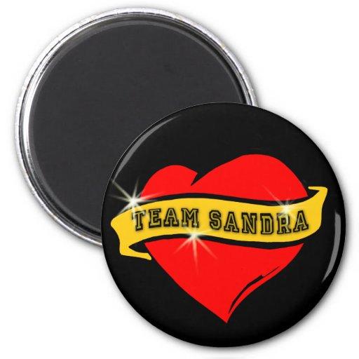 Tattoo Style Team Sandra Tshirts Fridge Magnets