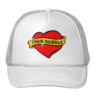 Tattoo Style Team Sandra Tshirts Trucker Hat