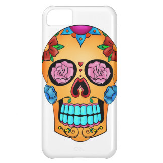 Tattoo Sugar Skull - Day of the Dead, Mexico iPhone 5C Cases