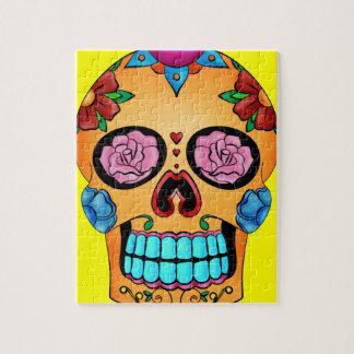 Tattoo Sugar Skull Puzzle