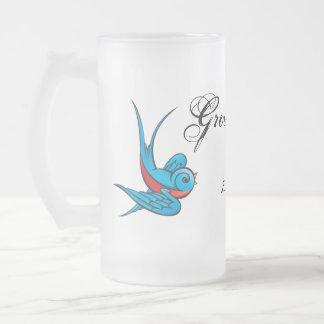 Tattoo Swallow GroomsMan Wedding Favor Mug