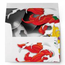Tattoo - Traditional Japanese Design Envelope