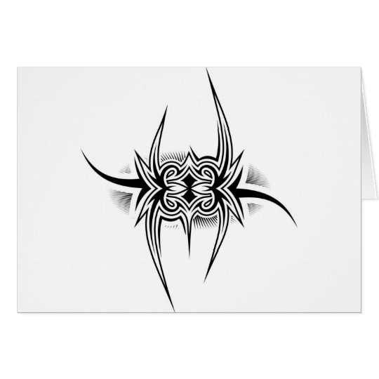 Tattoo Tribal Design Card