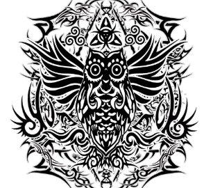 Tribal Owl Pillows Decorative Throw Pillows Zazzle