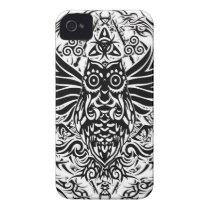 Tattoo tribal owl iPhone 4 case