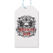 Tattoo tribal street art gift tags