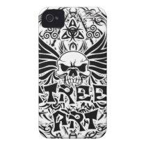 Tattoo tribal street art iPhone 4 cover