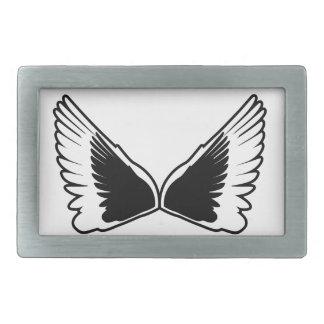 Tattoo wings belt buckles