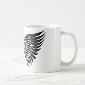 Tattoo wings coffee mug