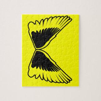 Tattoo wings jigsaw puzzles