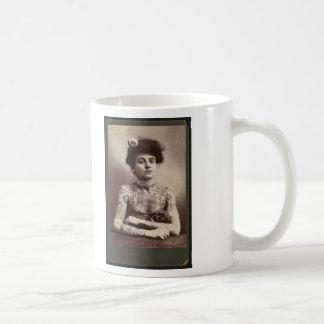 Tattooed American Woman Coffee Mug