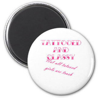 Tattooed And Classy Magnet