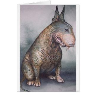 Tattooed bully card