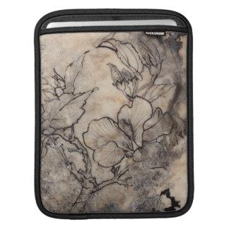 Tattooed Floral I iPad Sleeve