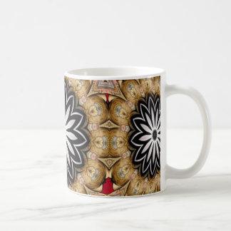 Tattooed Floral Coffee Mugs