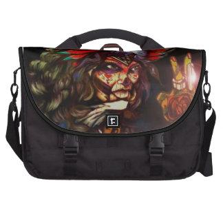 Tattooed girl messenger bag bags for laptop
