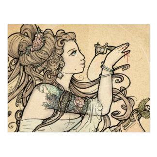 Tattooed Goddess postcards