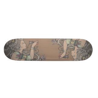 Tattooed Goddess - skate deck