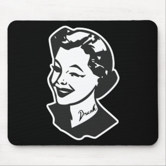 Tattooed Housewife - Drunk Mouse Pad