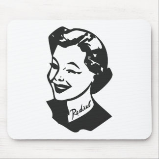 Tattooed Housewife - Radical Mouse Pads
